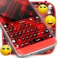 Red Keyboard Glow Theme apk