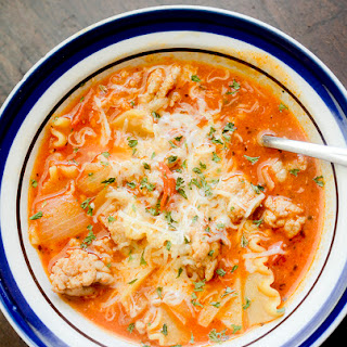 Weight Watchers Lasagna Soup.