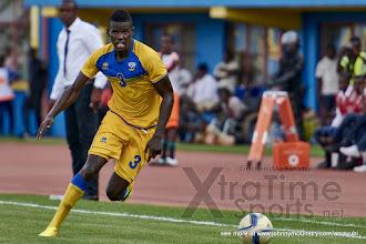 Photo: Abouba SIBOMANA [Rwanda v Mauritius, AFCON 2017 Qualifier, 29 March 2016 in Kigali, Rwanda.  Photo © Darren McKinstry 2016, www.XtraTimeSports.net]