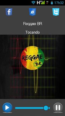 Rádio Reggae BR - screenshot