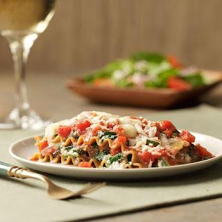 Slow-Cooker Vegetarian Lasagna.