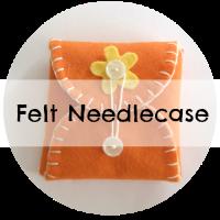 felt needle case