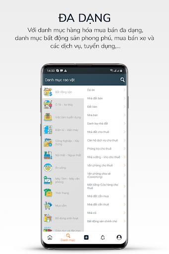 Trang Đăng Tin - Mua Bán Rao Vặt Miễn Phí screenshot 2