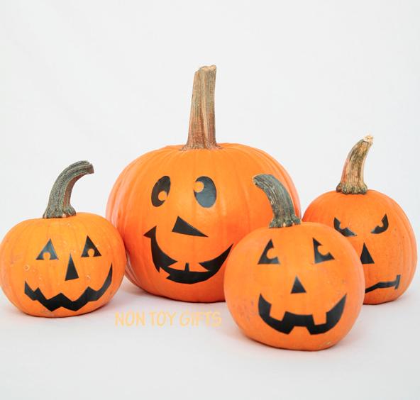 knutselen met pompoenen tijdens halloween