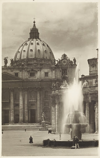 Bernini Fountain, St. Peter's Square