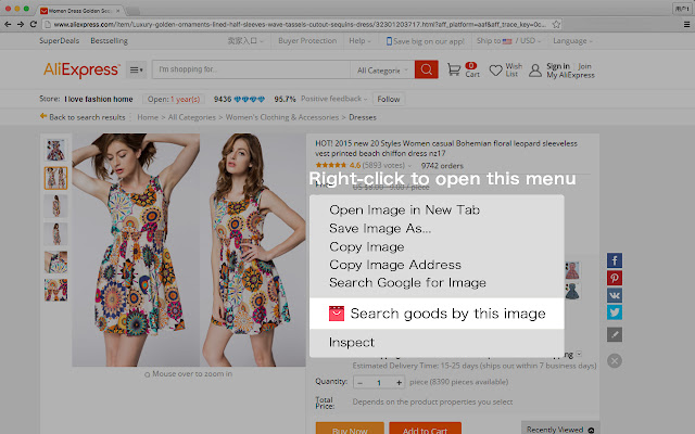 Search Similar Goods by Image
