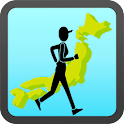 walk place of Japan(Pedometer) icon