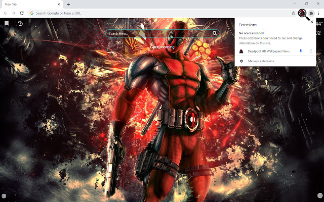 Deadpool HD Wallpapers New Tab