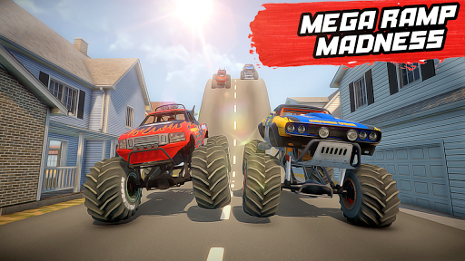Mega Ramp Monster Truck Stunt Racing apkmr screenshots 3