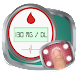 血糖ロガーアプリ:スキャントラッカーチェッカーテスト