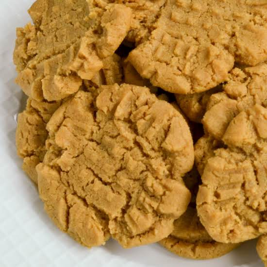 These Quick And Easy Scrumptious Flourless Peanut Butter Cookies Are Prepped And In The Oven In About Ten Minutes. Bake A Batch For Your Family Today.