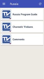 Mobile TV Guide Online - náhled