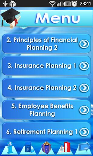 CFP app Financial Planner Exam