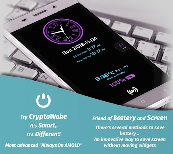 Always On Display, AMOLED (CryptoWake) 📴 Screenshot
