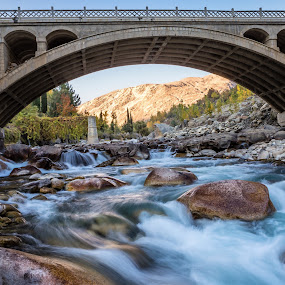 Natural water flow  by Salman Ahmed - Landscapes Waterscapes ( water, chashma, natural water flow, landscape, rocks )