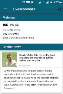 LiveScoreBuzz - cricket update - náhled