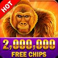 Golden Gorilla - Free Vegas Casino Slots Machines