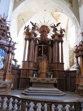 Photo: St Anne's wooden alter