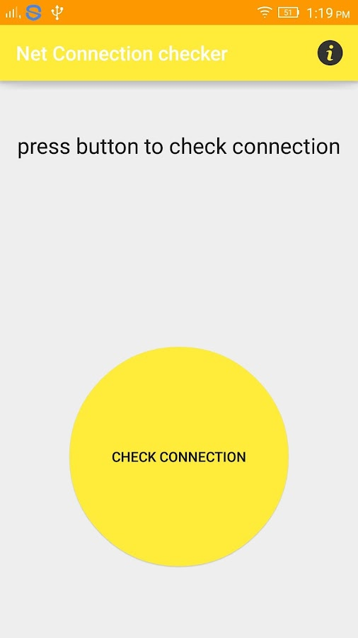 Net Connection Checker- screenshot