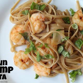 Cajun Shrimp Pasta.