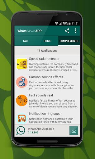 玩免費通訊APP|下載Update for WhatsApp app不用錢|硬是要APP