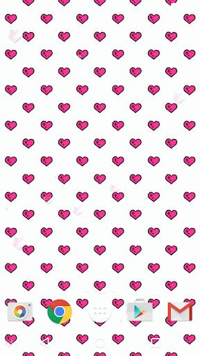 Girly Patterns Live Wallpaper