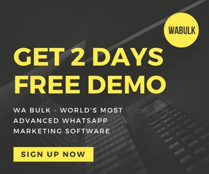 Bulk WhatsApp Sender 2 0 - Powerful WhatsApp Marketing Software