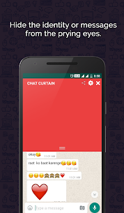 Download Chat Curtain App For Android 2