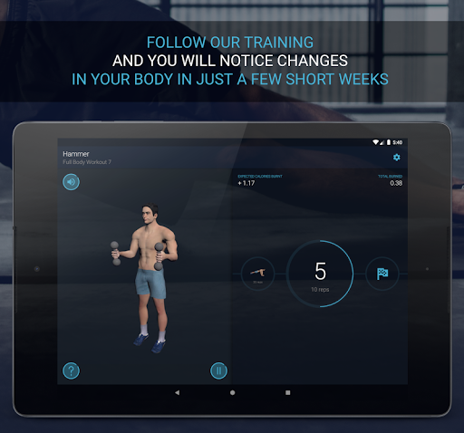 Home Workout - Fitness & Bodybuilding 1.2.6 Screenshots 11