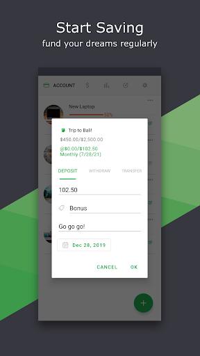 Thriv - Savings Goal screenshot 3