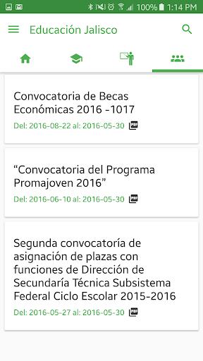 Educación Jalisco screenshot 5