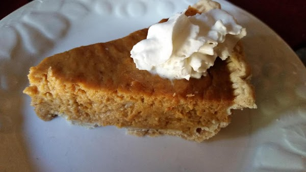Pour the mixture into the warm pie crust and bake for 45 minutes at...