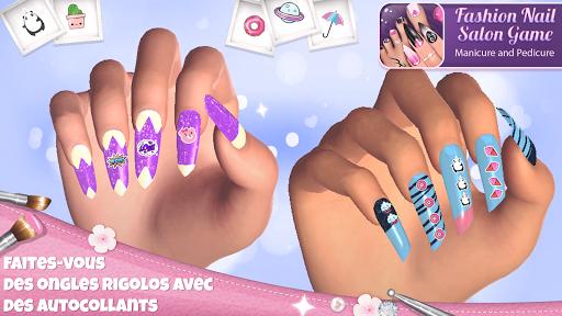 Télécharger Jeux de manucure et pedicure - Jeux pour filles APK MOD (Astuce) screenshots 5