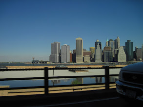 Photo: Manhattan skyline from the (I have no idea)