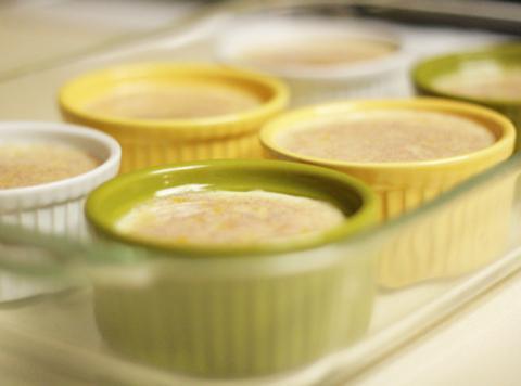 Baked Custard, Lyn* Recipe