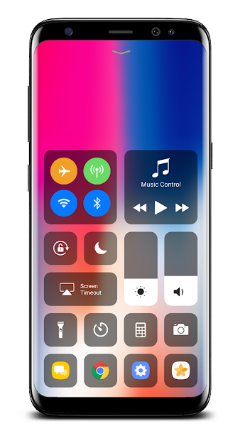 Control Center OS 11- screenshot