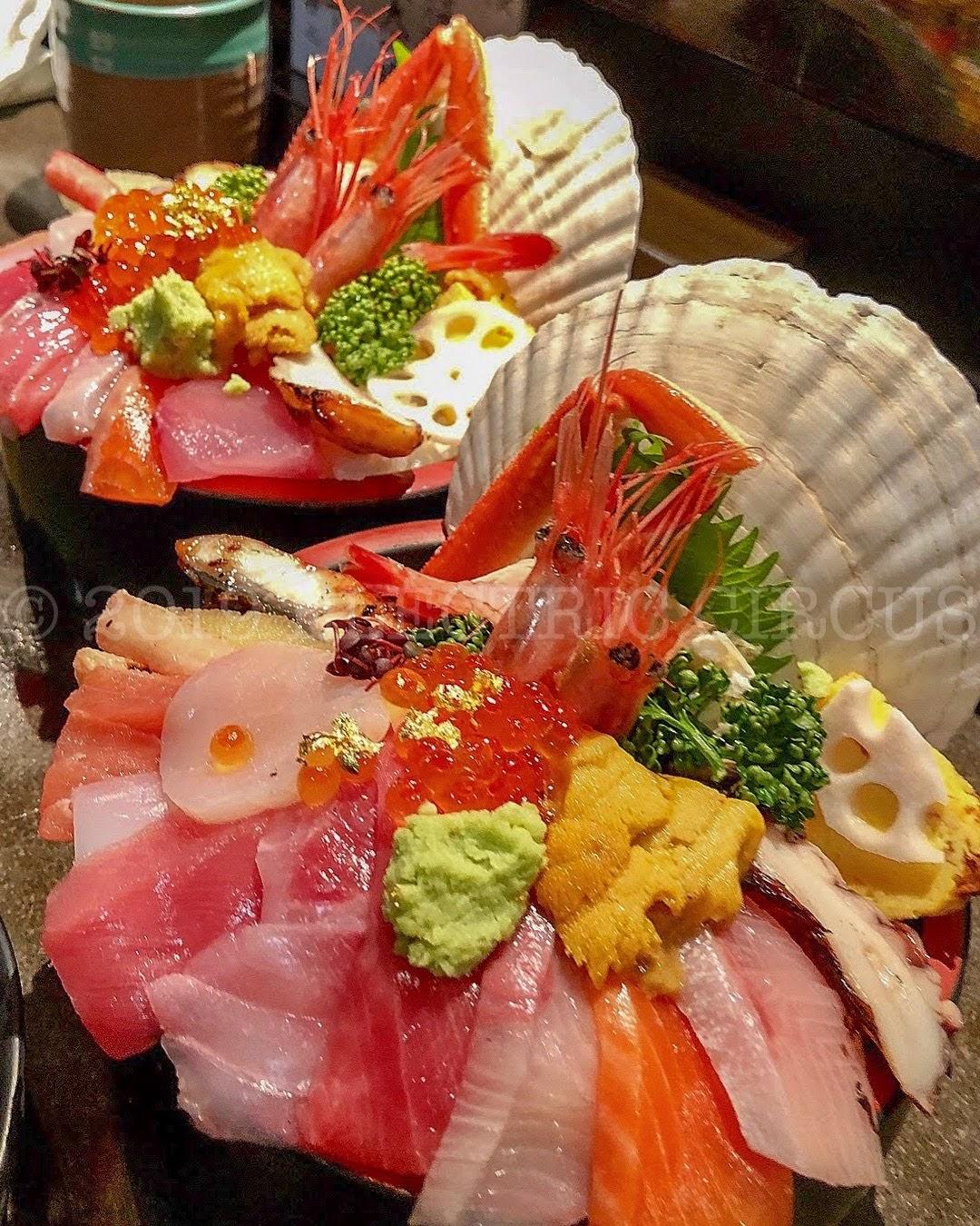 山さんすし 海鮮丼