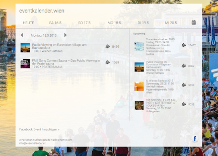 eventkalender.wien- screenshot thumbnail
