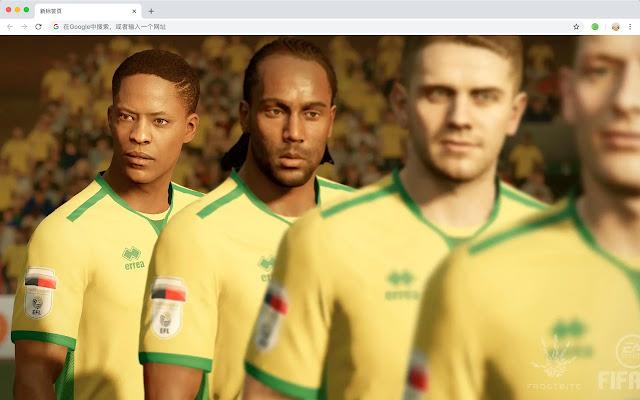 FIFA 18 Popular Games HD New Tabs Themes