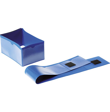 Pallfotsficka 145 x 75 mm blå