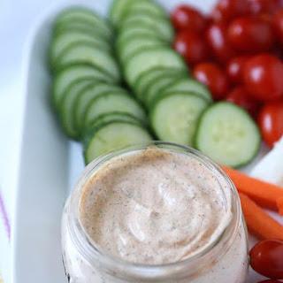 Chipotle Ranch Greek Yogurt Dip Recipe