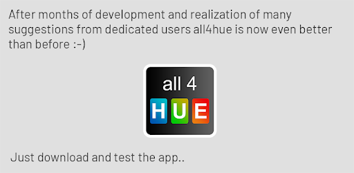 all 4 hue - Apps on Google Play