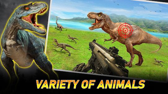 Wild Dinosaur Hunter Simulator:Free Shooting Games 1