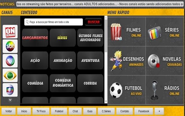 Tv online brasil para google chrome chrome web store fandeluxe Gallery