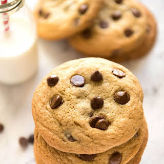 Soft Easy Chocolate Chip Cookies.