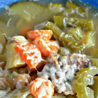 Skinny Detox Vegetable Beef Soup.