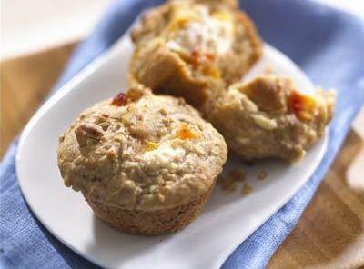 Oat Peaches And Cream Muffins Recipe