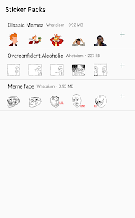 Memes - Sticker Pack For Whatsapp Screenshot