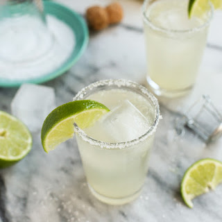 Prosecco Margaritas {big-batch cocktail}