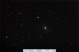 Photo: Day 47 (should be Friday) is as current as it gets, as it was taken on Friday! :) Th e final, and lesser of the objects from this session. It rounds out 1 more Messier object for my quest of a complete set. It is one of the 'Anemic Galaxies' from my previous post.